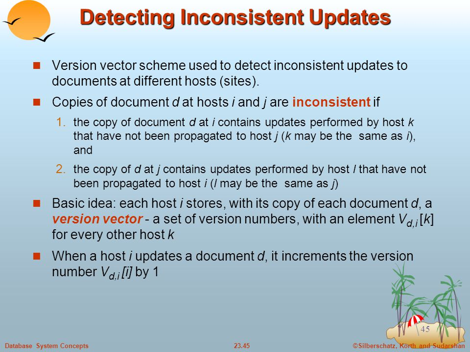 Detecting Inconsistent Updates