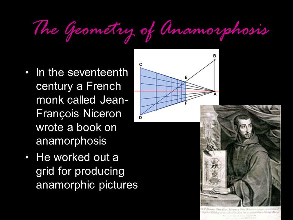 The Geometry of Anamorphosis