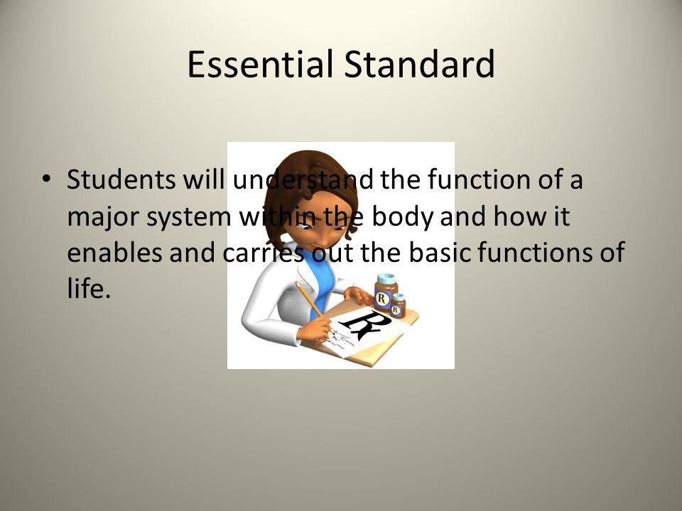 Essential Standard