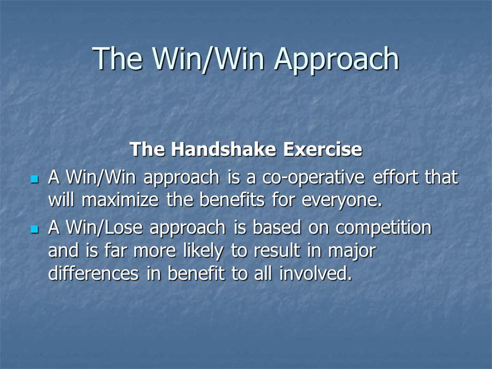 The Handshake Exercise