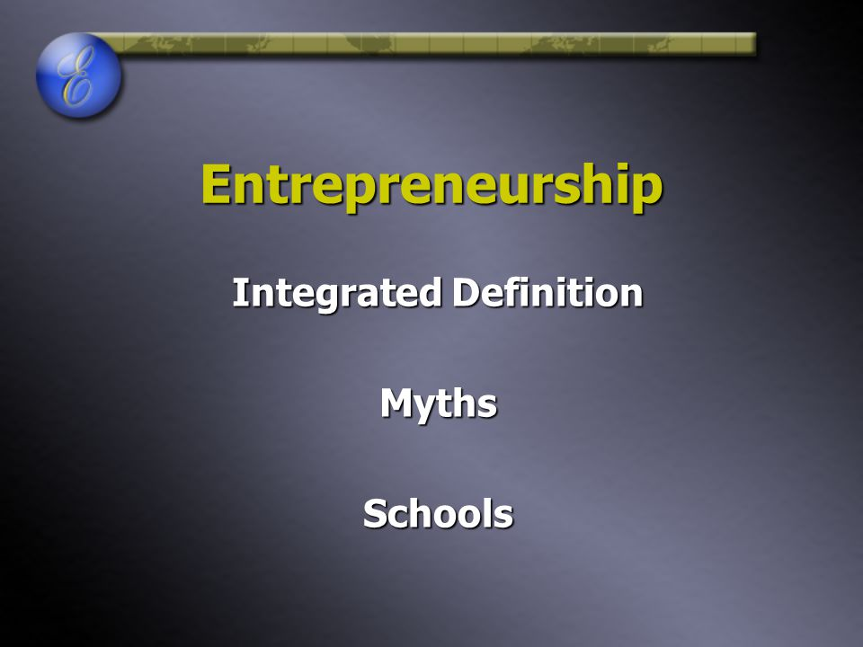 Integrated Definition Myths Schools