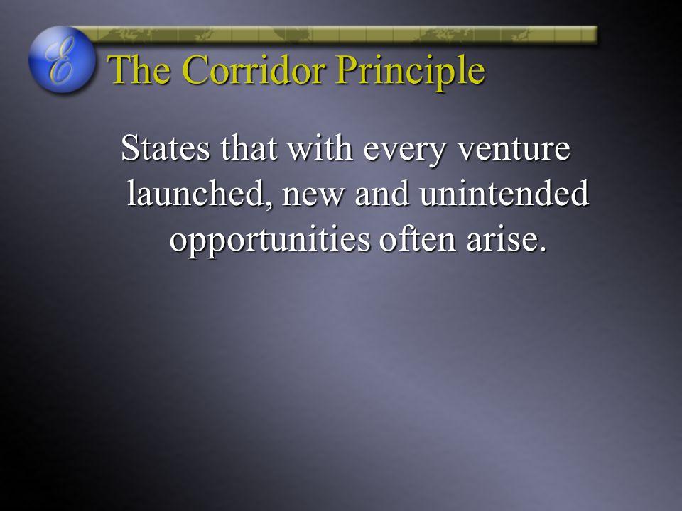 The Corridor Principle