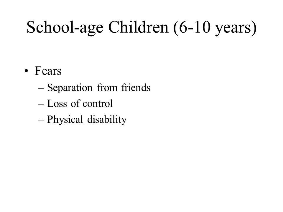 School-age Children (6-10 years)
