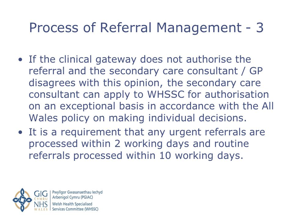 Process of Referral Management - 3