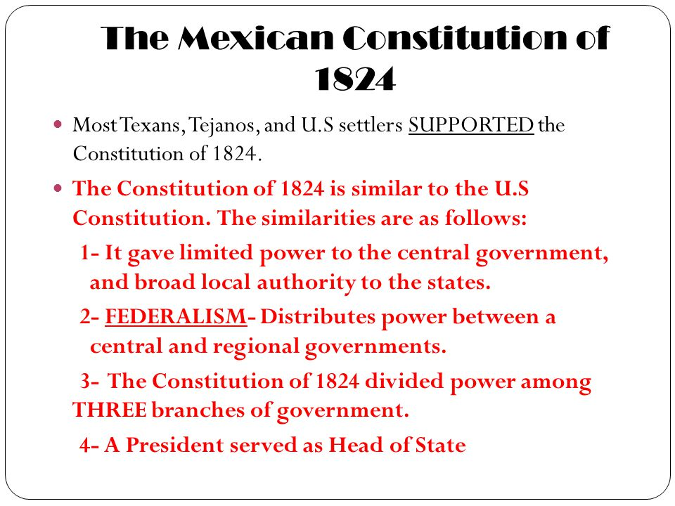 The Mexican Constitution of 1824