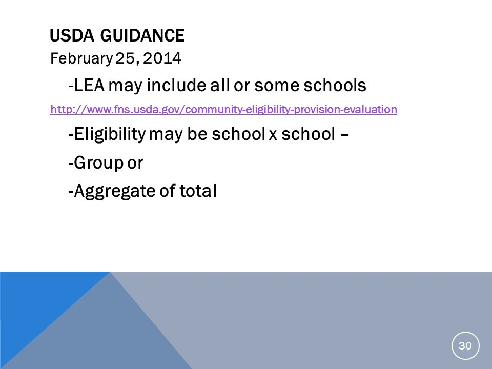 -LEA may include all or some schools