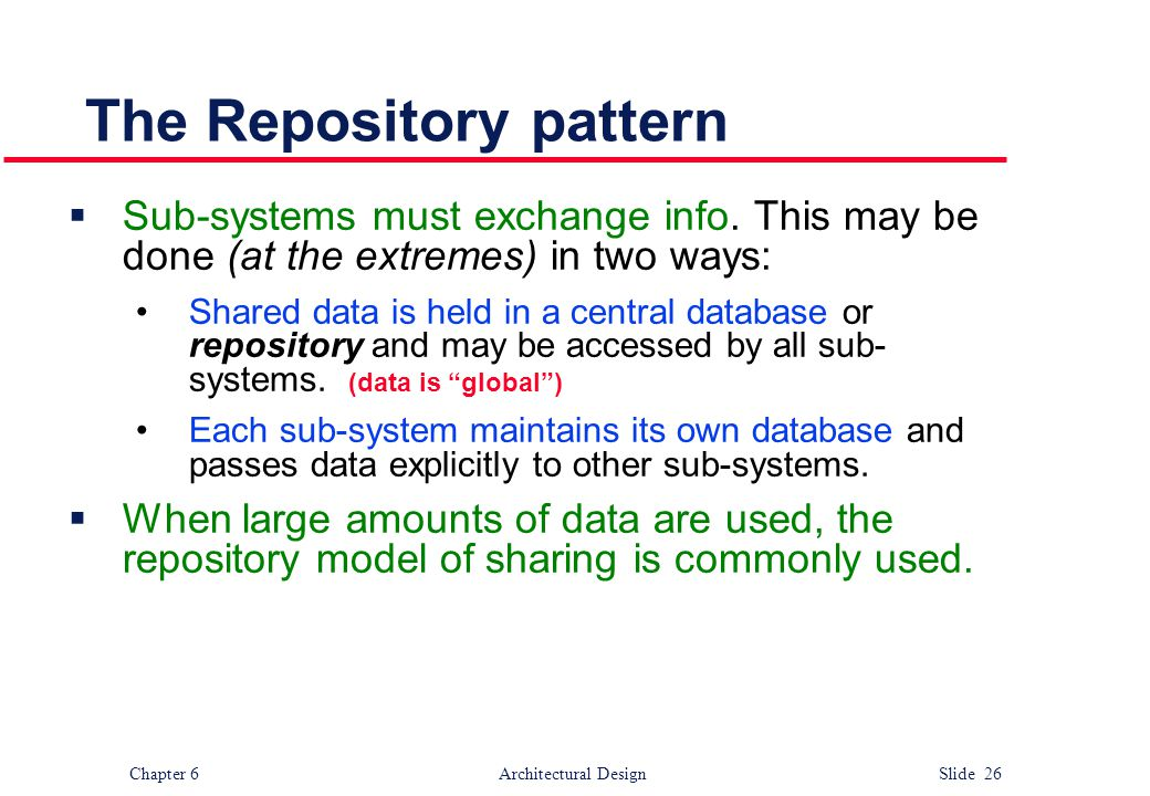 The Repository pattern