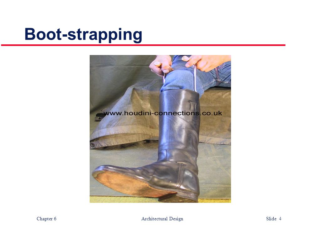 Boot-strapping