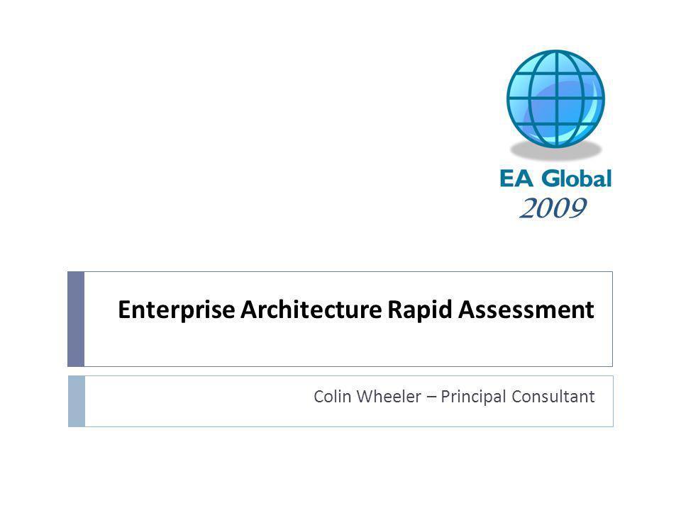 Enterprise Architecture Rapid Assessment
