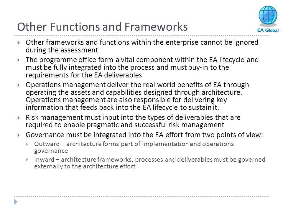 Other Functions and Frameworks