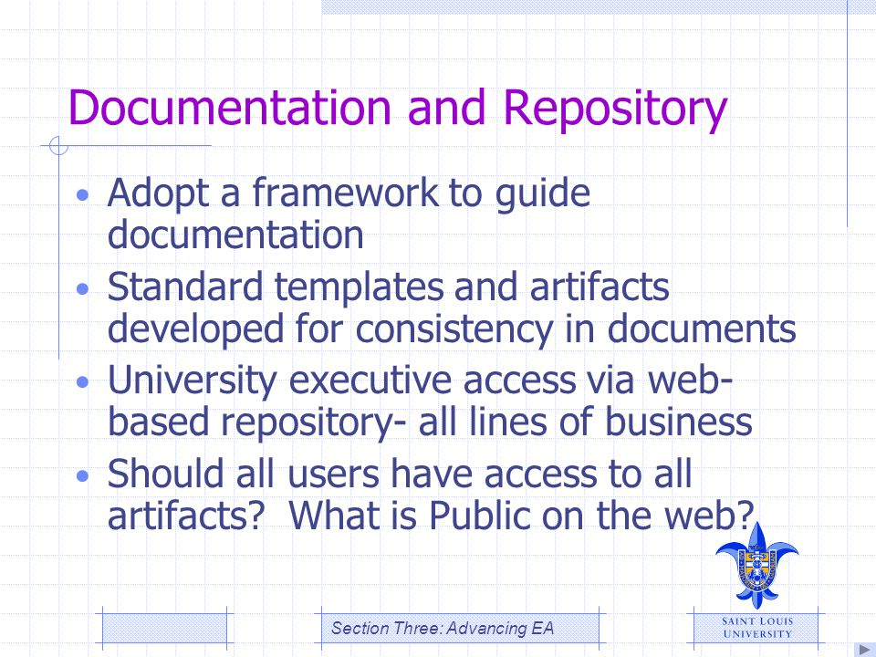 Documentation and Repository