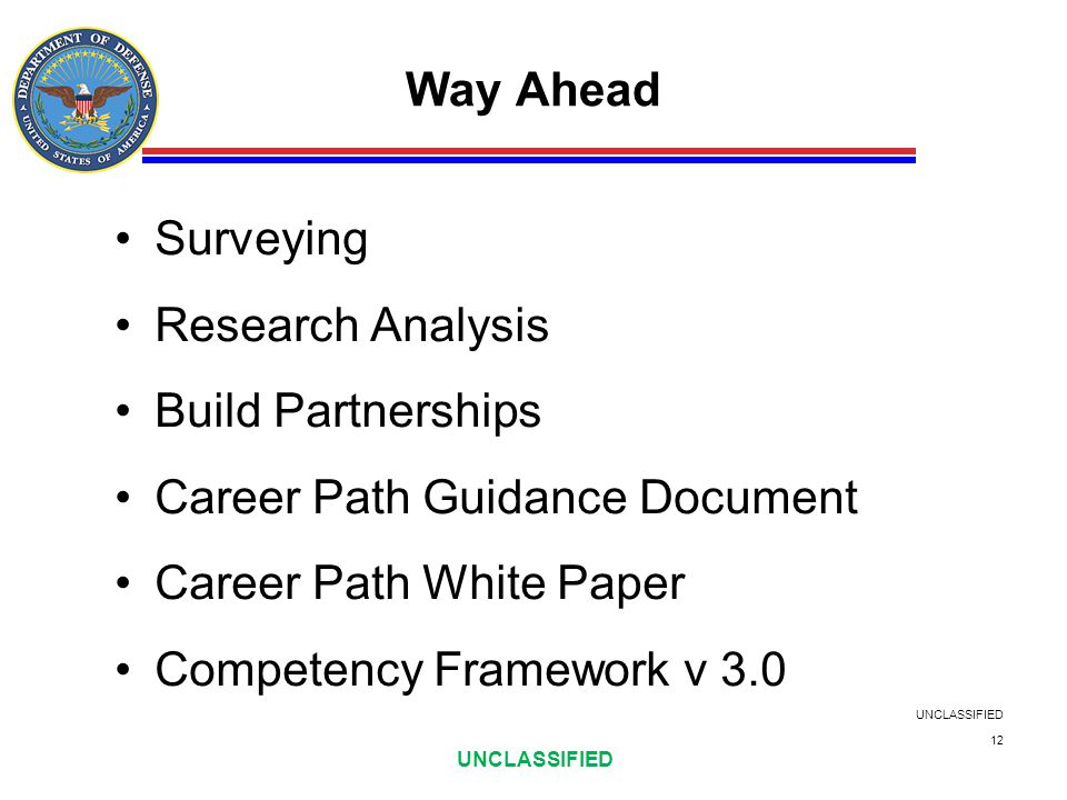 Career Path Guidance Document Career Path White Paper