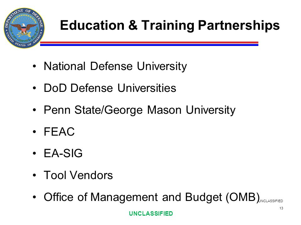 Education & Training Partnerships