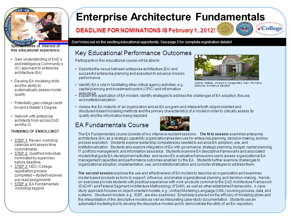 Enterprise Architecture Fundamentals