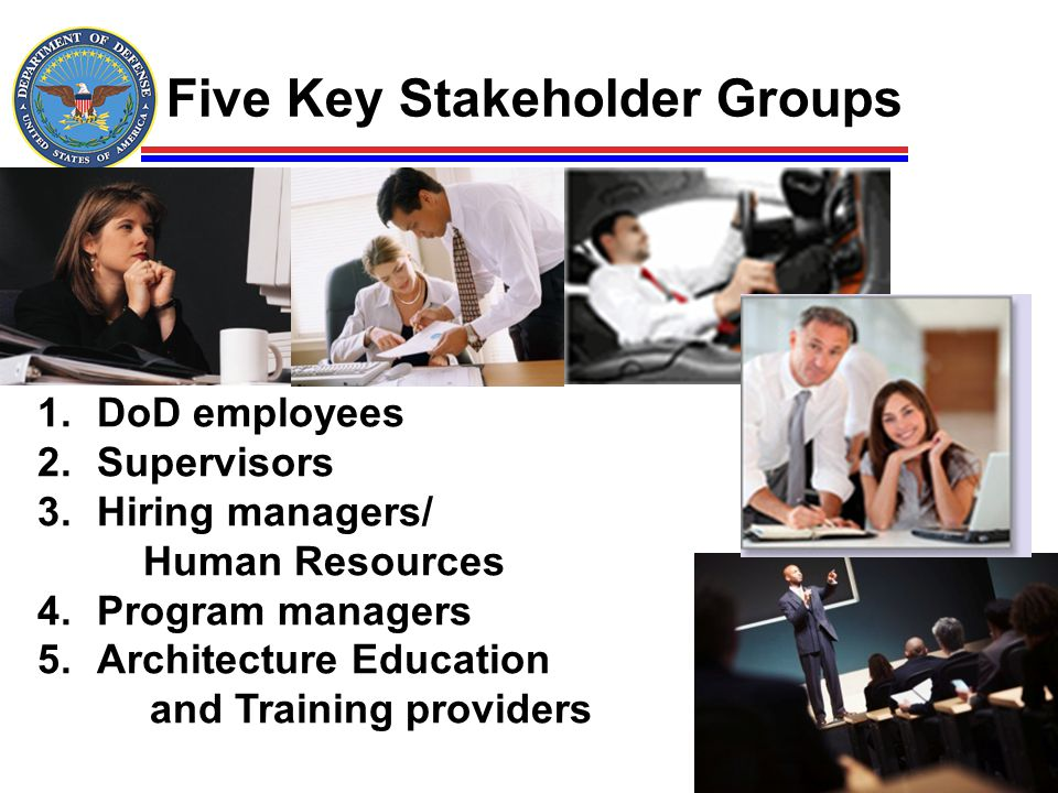 Five Key Stakeholder Groups