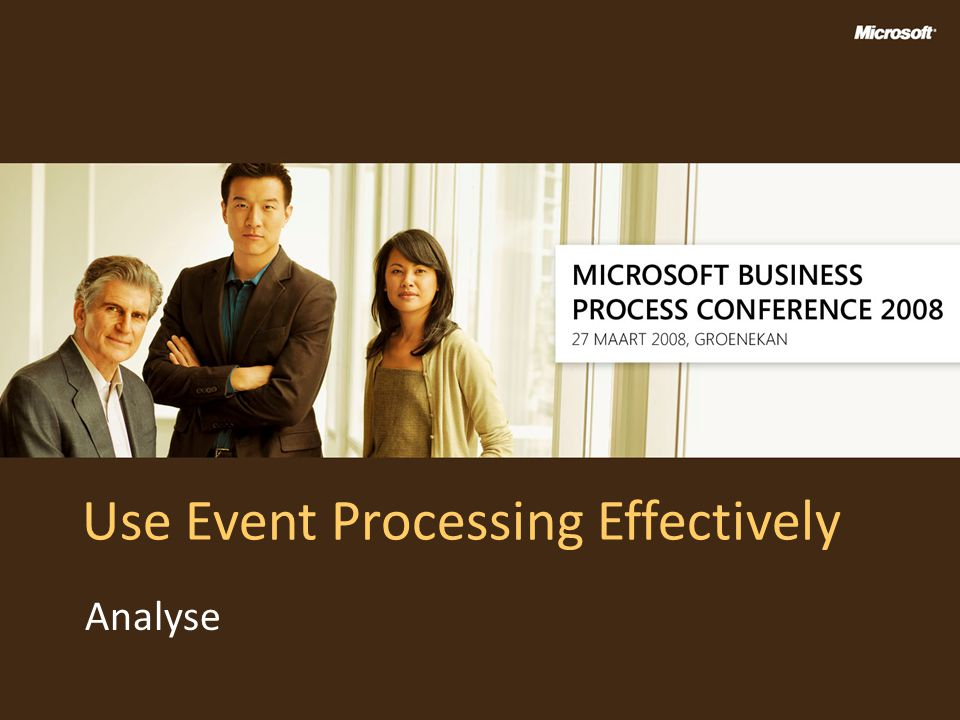 Use Event Processing Effectively
