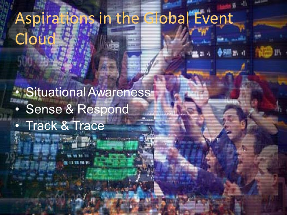 Aspirations in the Global Event Cloud