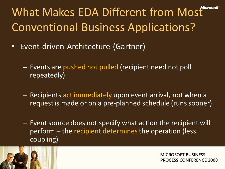 What Makes EDA Different from Most Conventional Business Applications