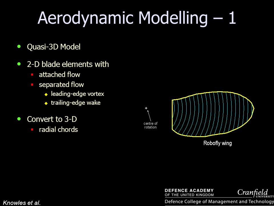 Aerodynamic Modelling – 1