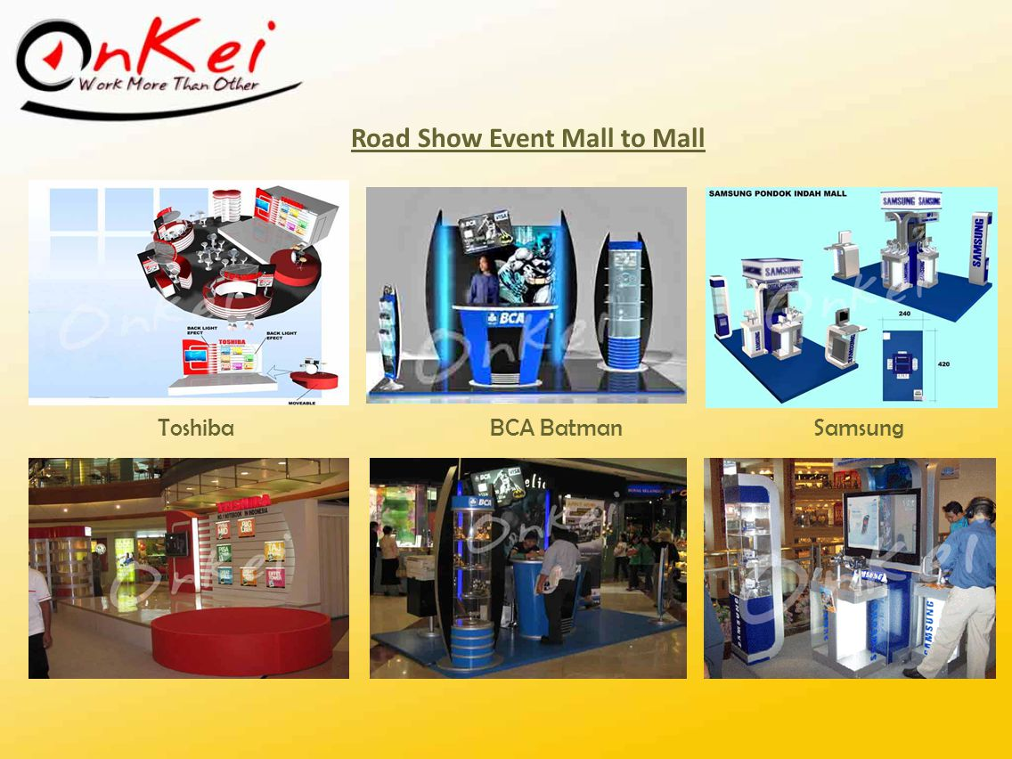 Road Show Event Mall to Mall