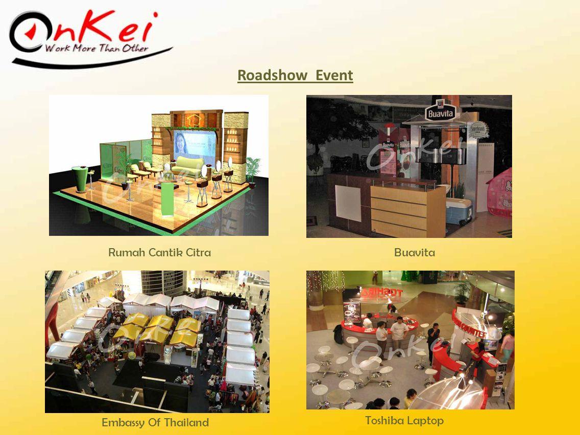 Roadshow Event Rumah Cantik Citra Buavita Embassy Of Thailand