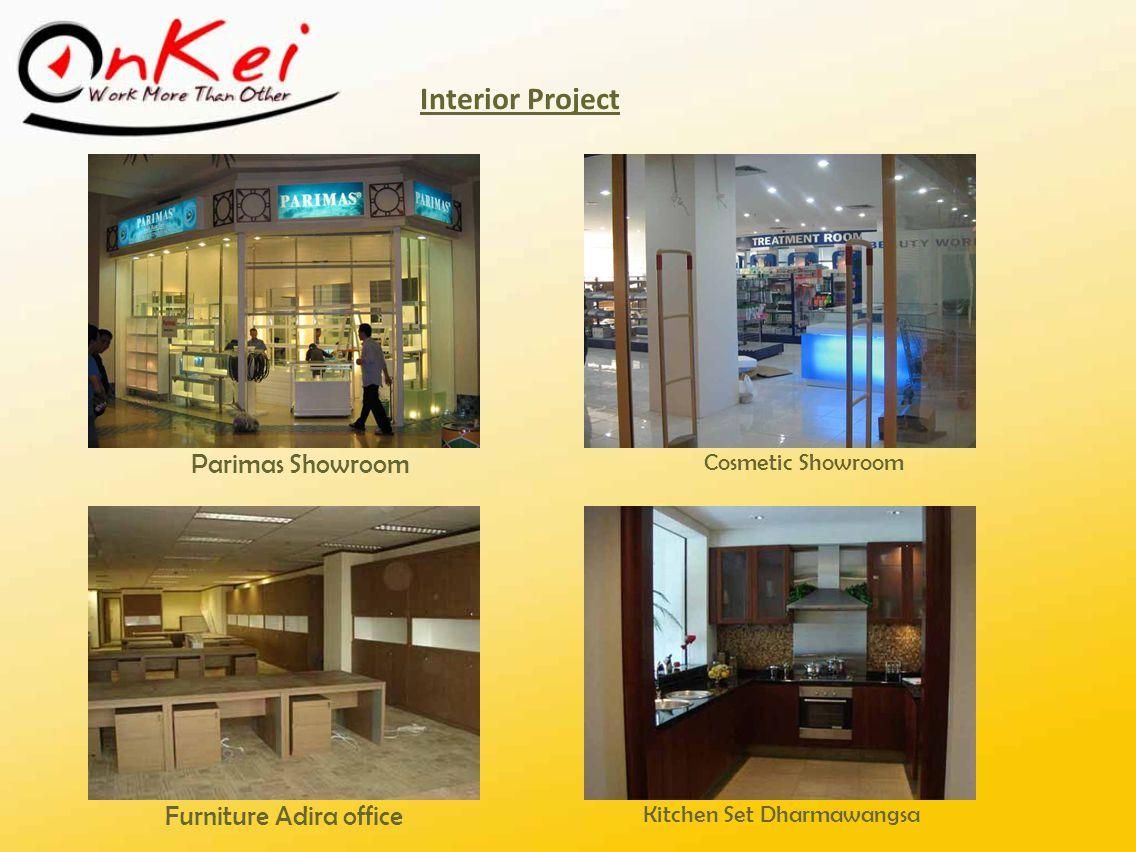 Interior Project Parimas Showroom Furniture Adira office