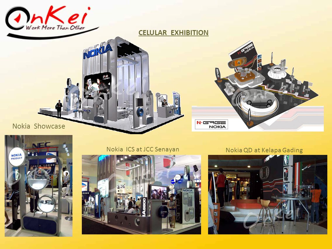CELULAR EXHIBITION Nokia Showcase Nokia ICS at JCC Senayan