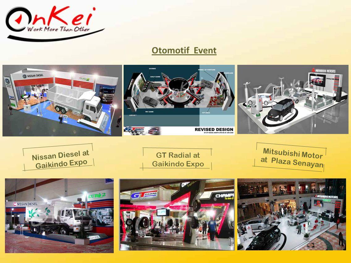 Otomotif Event Mitsubishi Motor Nissan Diesel at Gaikindo Expo