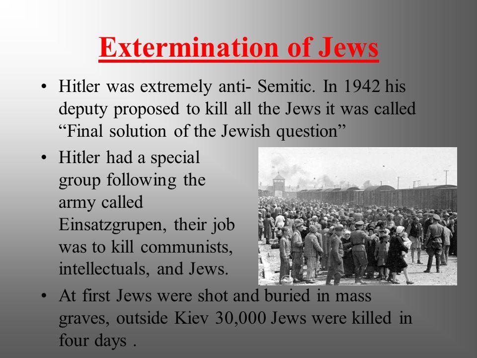 Extermination of Jews