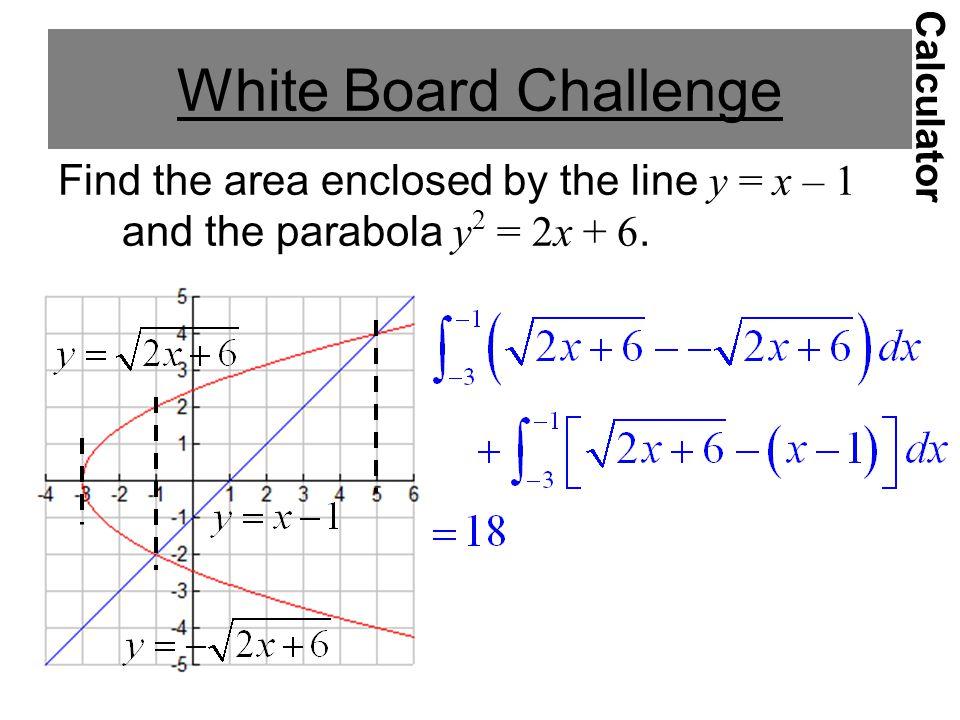White Board Challenge Calculator.