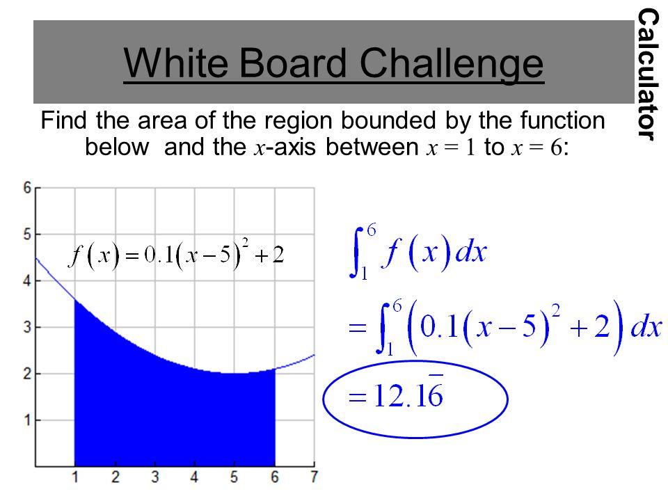 White Board Challenge Calculator