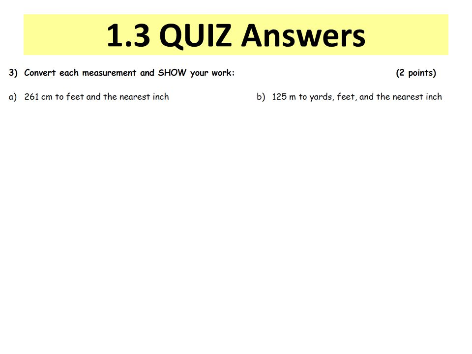 1.3 QUIZ Answers