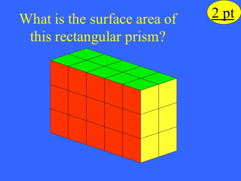What is the surface area of this rectangular prism