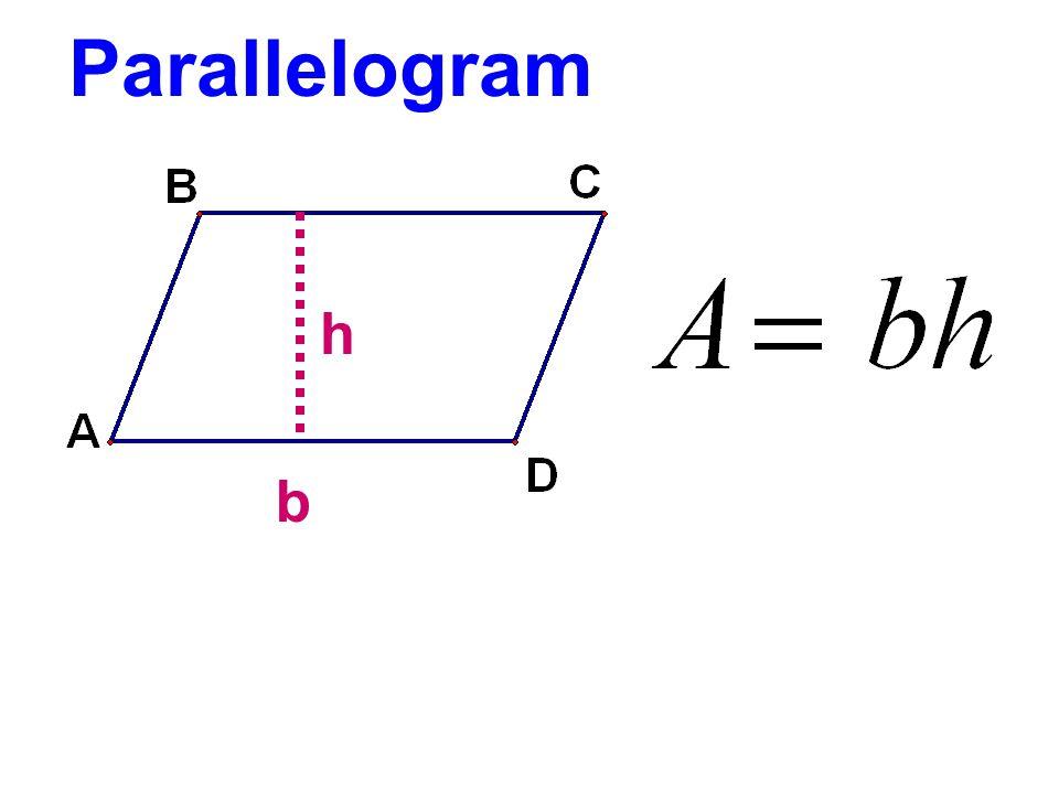 Parallelogram h b