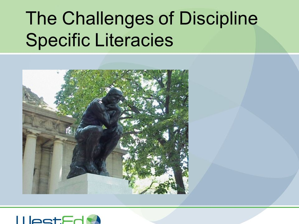 The Challenges of Discipline Specific Literacies