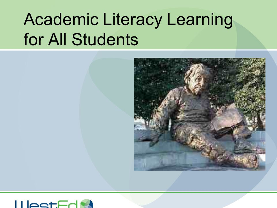 Academic Literacy Learning for All Students
