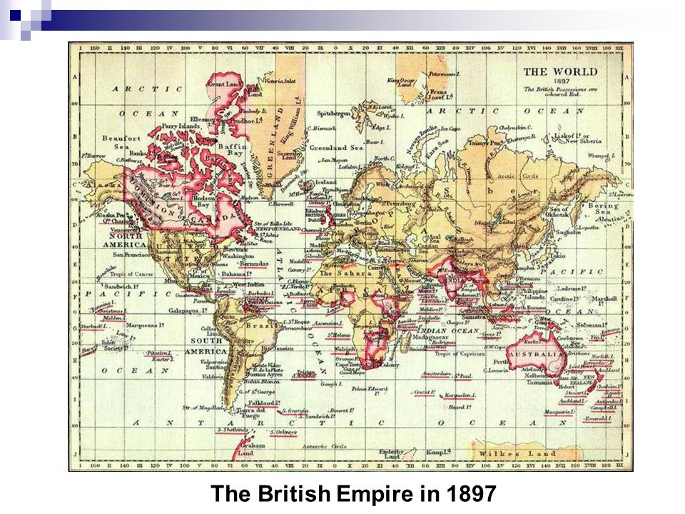 The British Empire in 1897