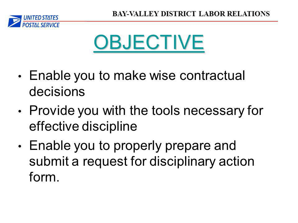 OBJECTIVE Enable you to make wise contractual decisions