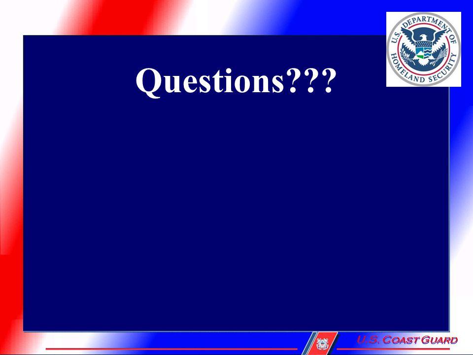Questions U.S. Coast Guard