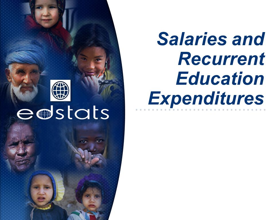 Salaries and Recurrent Education Expenditures