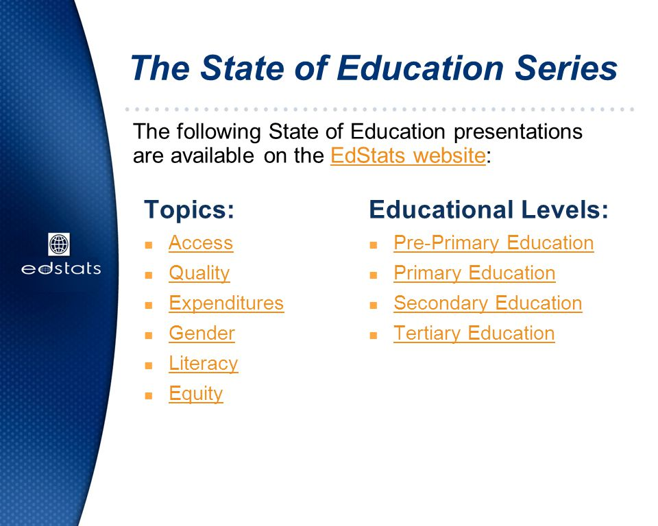 The State of Education Series