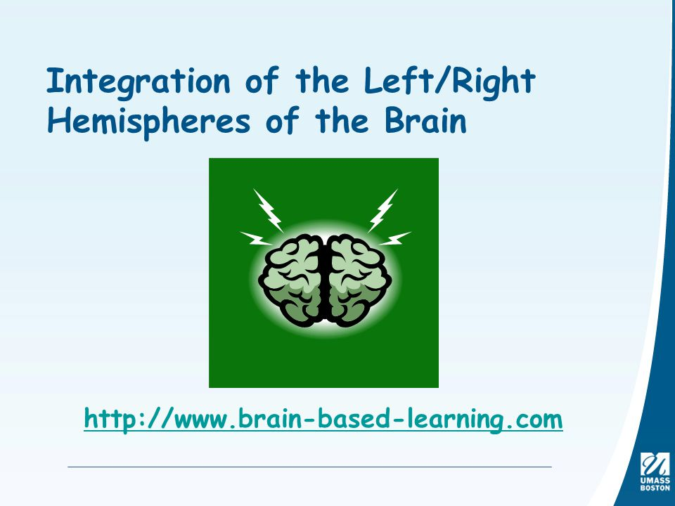 Integration of the Left/Right Hemispheres of the Brain