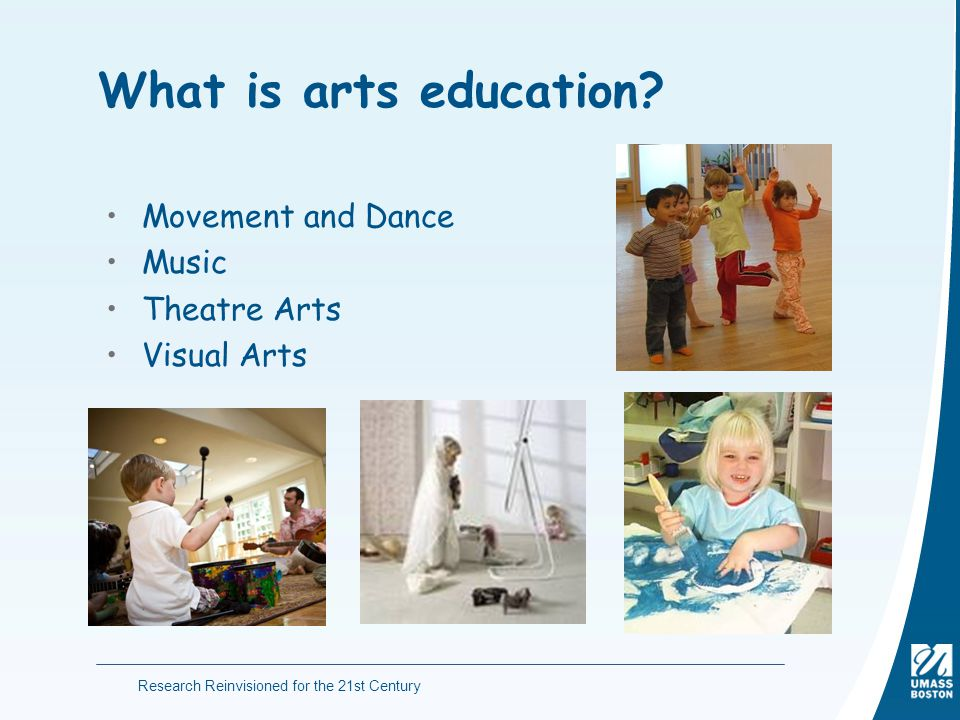 What is arts education Movement and Dance Music Theatre Arts