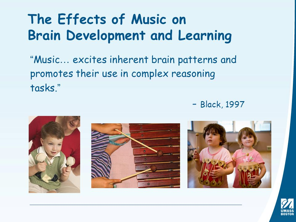 effects of music on the brain Music and the brain laurence o'donnell music affects the amplitude and frequency of brain waves, which can be measured by an electro-encephalogram music also affects breathing rate and electrical resistance of the skin.