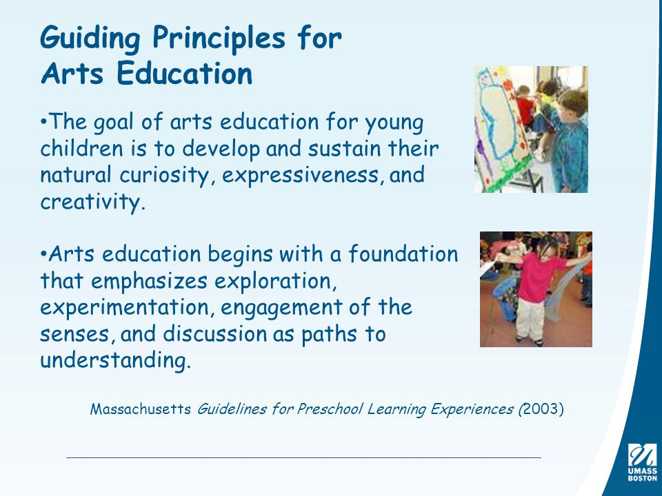 Guiding Principles for Arts Education