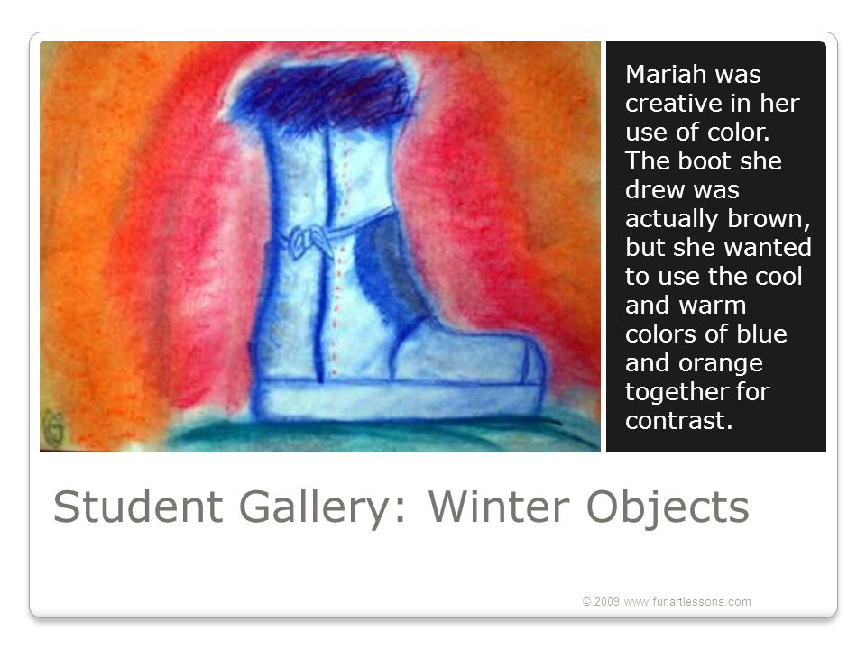 Student Gallery: Winter Objects