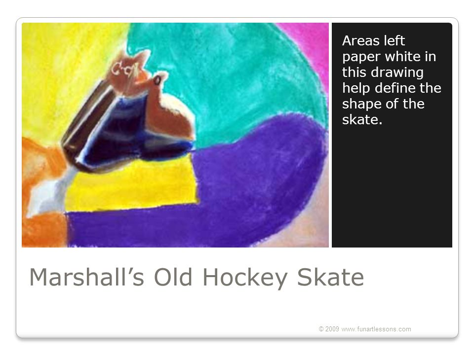 Marshall's Old Hockey Skate