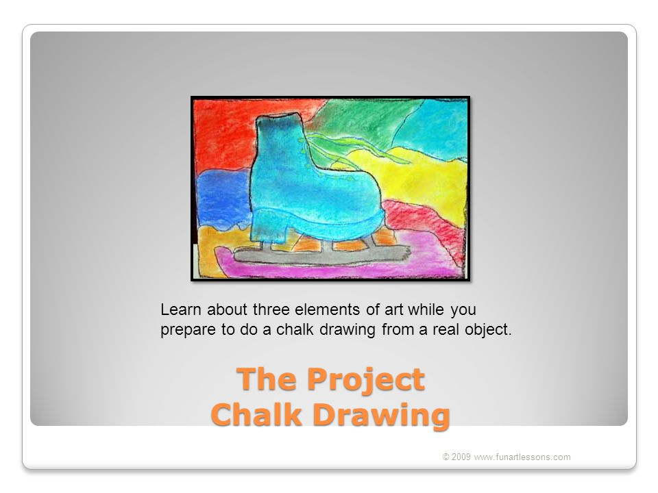 The Project Chalk Drawing