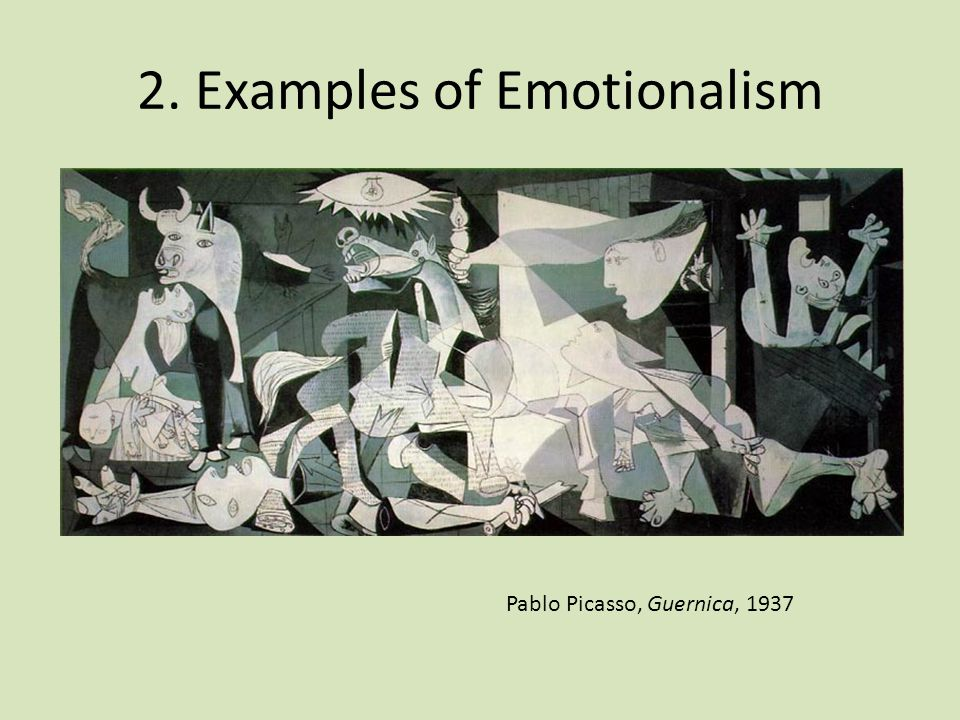 2. Examples of Emotionalism