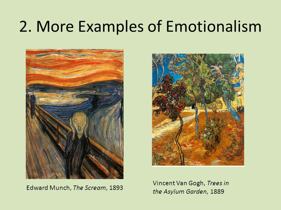 2. More Examples of Emotionalism